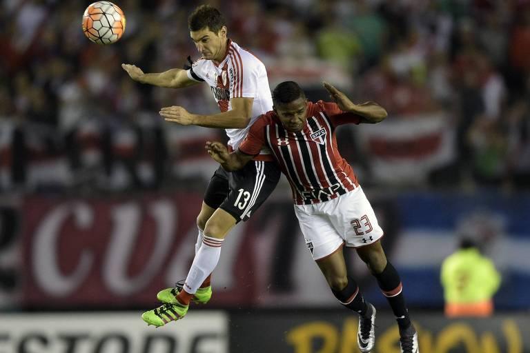 São Paulo e River Plate se encontraram na fase de grupos da Libertadores de 2016