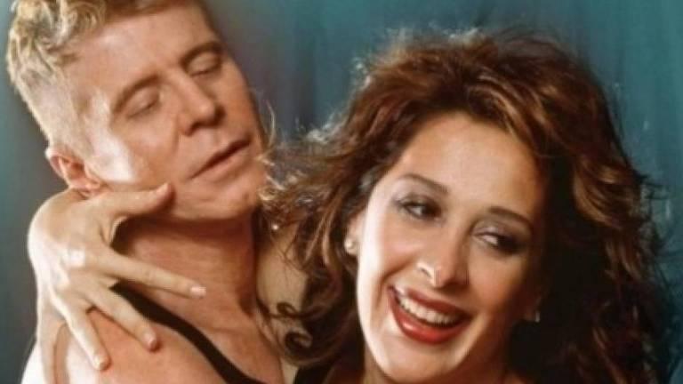 """Miguel Falabella e Claudia Raia na peça """"Batalha de Arroz num Ringue para Dois"""""""