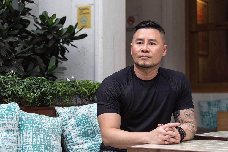 Johnson Ong, que entrou na Justiça contra a regra que proíbe sexo entre homens no país