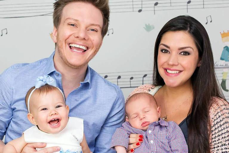Melinda e Teodoro, nomes dos filhos de Michel Teló, apareceram com mais frequência entre os nomes de bebês em 2018