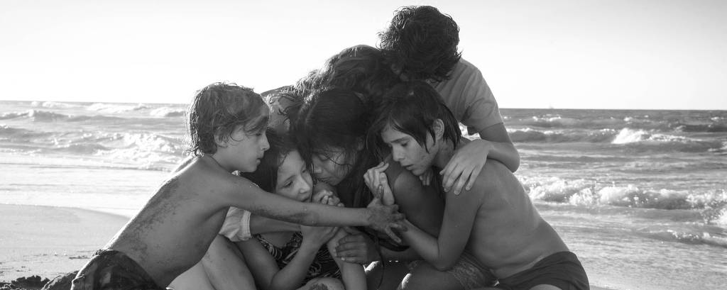 Cena do filme 'Roma', de Alfonso Cuarón