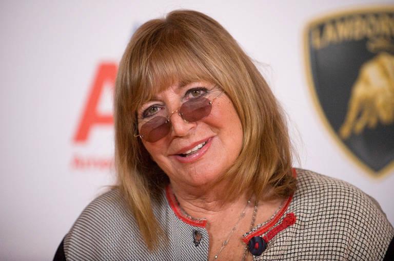 A diretora e atriz Penny Marshal em retrato de 2009