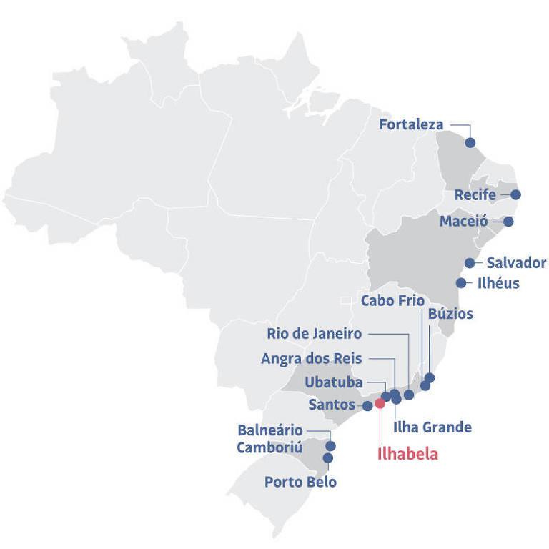 Temporada de cruzeiros no Brasil vai de novembro a março