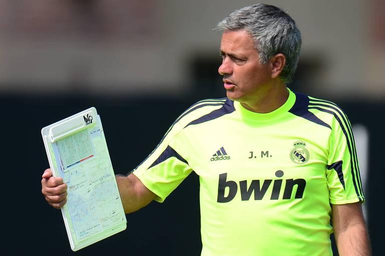 Mourinho comandou o Real Madrid de 2010 a 2013, com três títulos conquistados