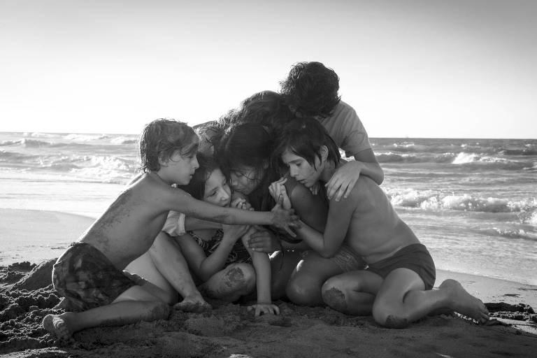 """Cena do filme """"Roma"""", lançado em 2018 pela Netflix"""