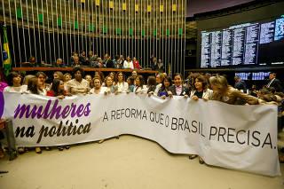 MULHERES / REFORMA POLITICA / CAMARA