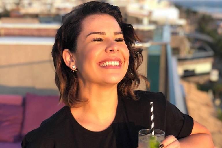 A atriz e apresentadora Fernanda Souza anunciou que vai tirar um ano sabático em 2019