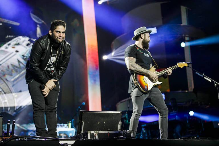 Jorge & Mateus se apresentam no Villa Mix, em São Paulo