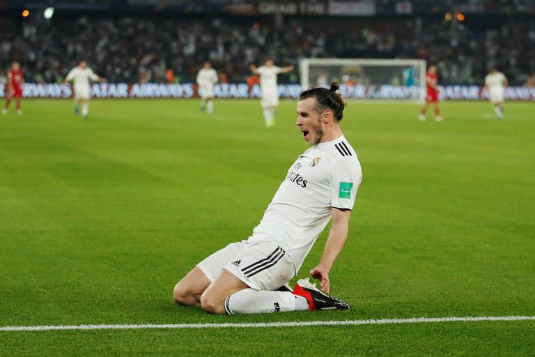 Gareth Bale foi o grande nome da classificação do Real à final do Mundial de Clubes