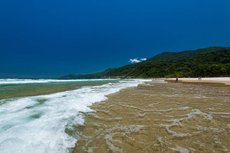 Praia de Lopes Mendes, na Ilha Grande (RJ)