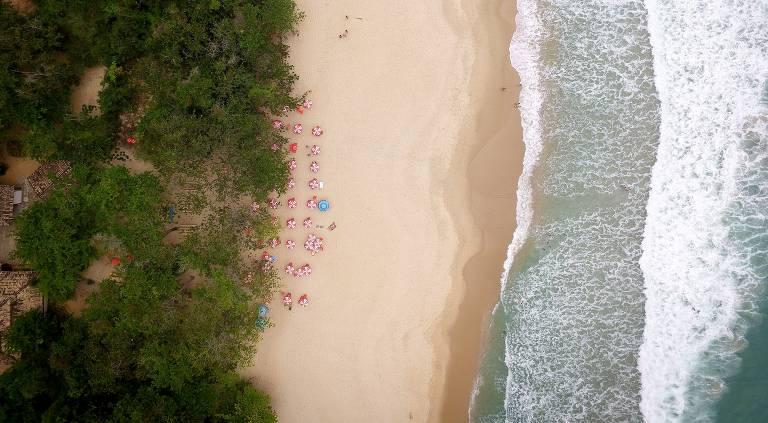 De Jericoacoara à Barra do Chuí, 283 praias estão sempre limpas desde 2016