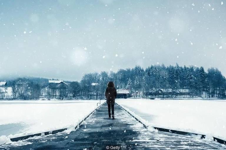 Quase 10% das pessoas no hemisfério norte são afetadas pelo transtorno afetivo sazonal no inverno