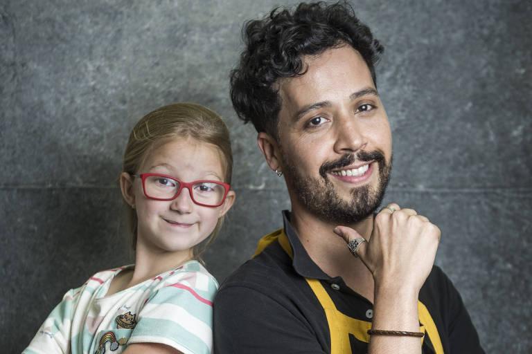 Mel ( Maria Rita ) e Getúlio ( Arlindo Lopes )
