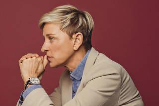 Talk-show host and comedian Ellen DeGeneres in Burbank, Calif.