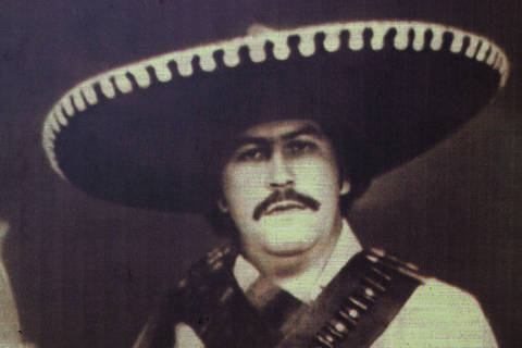 O narcotraficante coombiano Pablo Escobar, morto em 1993. *** Colombia, Antioquia Department, Hacienda Napoles, the Pablo Escobar's property who died in 1993. Converted in a museum with portraits of him. (Foto: Divulgação) ***DIREITOS RESERVADOS. NÃO PUBLICAR SEM AUTORIZAÇÃO DO DETENTOR DOS DIREITOS AUTORAIS E DE IMAGEM***
