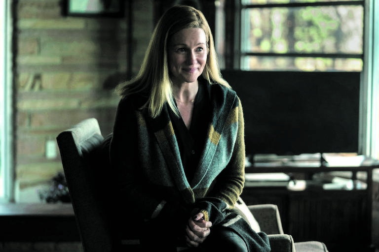 "Laura Linney na série ""Ozark"""
