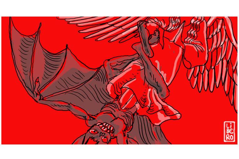 Ilustração de Líbero para Drauzio Varela de 22.dez.2018.