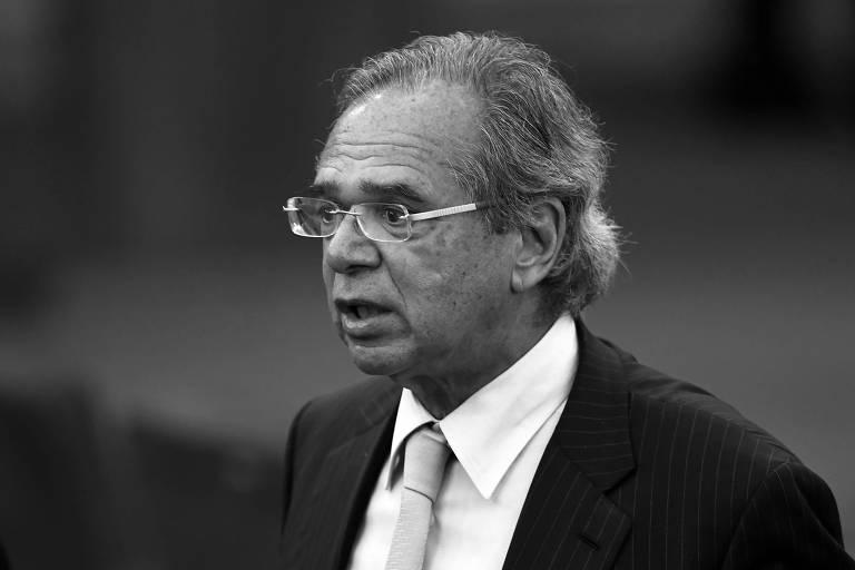 O futuro ministro da Economia, Paulo Guedes, durante cerimônia de diplomação de Jair Bolsonaro no TSE, em Brasília, neste mês