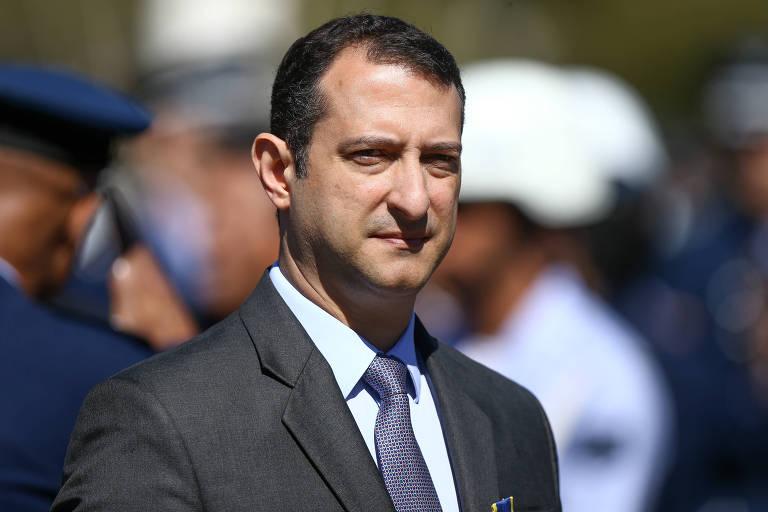 O diretor-geral da PF, Rogério Galloro