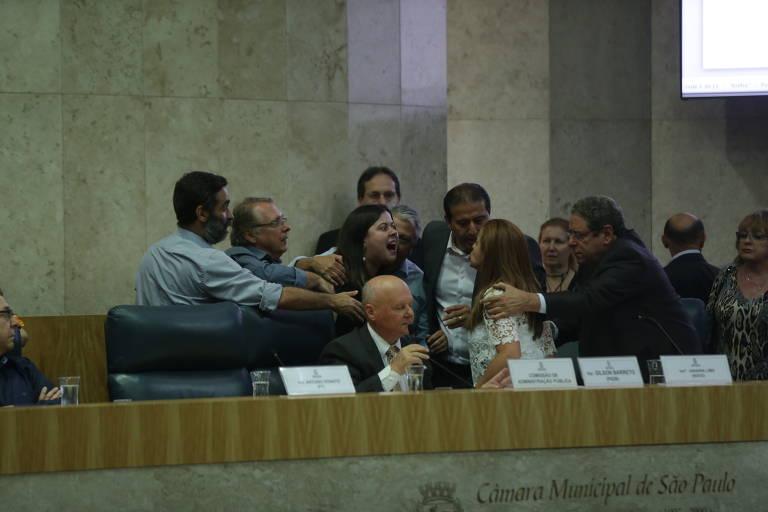 Votação reforma da previdência em SP