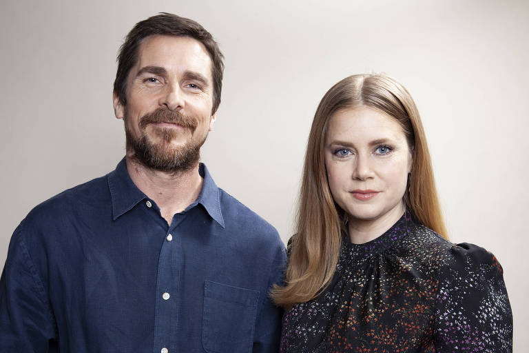 Christian Bale e Amy Adams