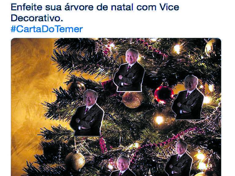 """Carta do Temer """"Verba volant scripta manent"""", assim, em latim, começa uma carta a presidente Dilma, em dezembro de 2015, reclamando de ser vice decorativo"""