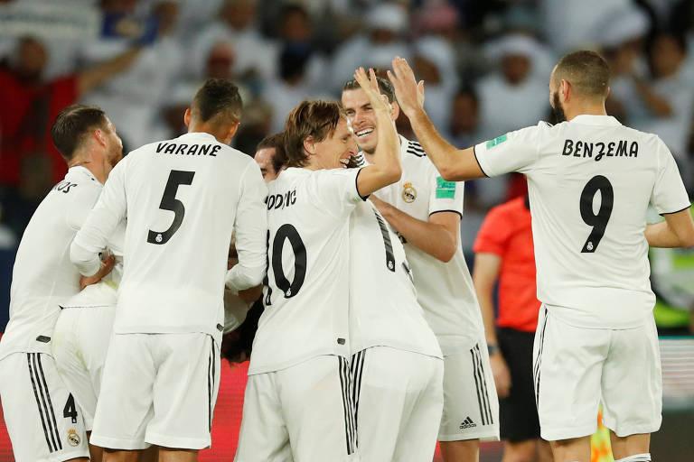 Modric volta a marcar após 184 dias e Real conquista o Mundial de Clubes
