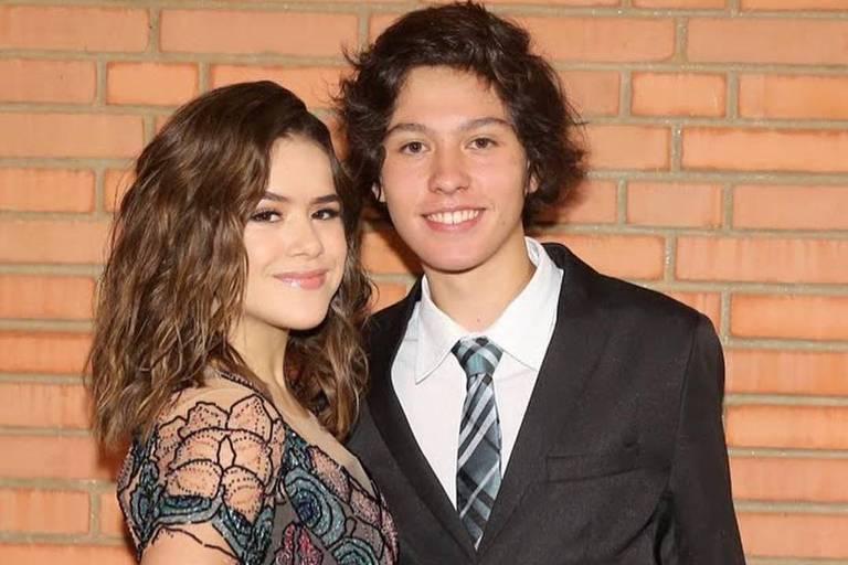 Maisa Silva e o namorado, Nicholas Arashiro