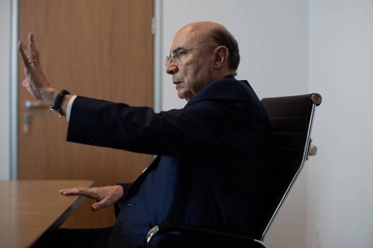 Henrique Meirelles, secretário da Fazenda do governo de SP