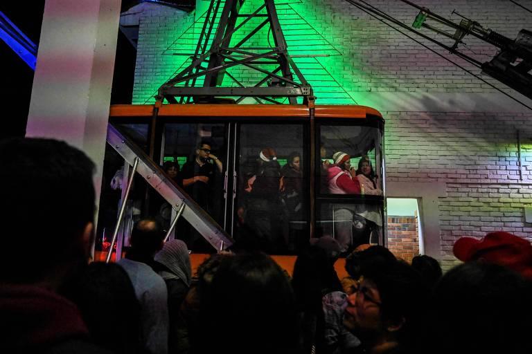 Acidente com teleférico em Bogotá deixa 25 feridos; três são brasileiros