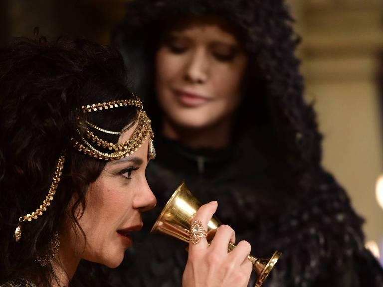 Herodíade morre com cobra de Satanás