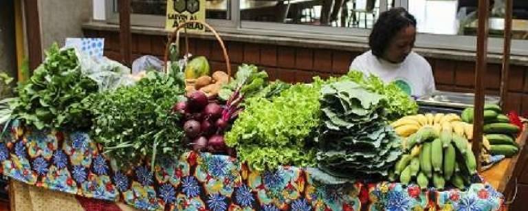 A Mostra Agroecológica que acontece no Sesc Itaquera