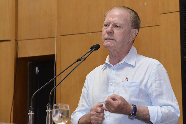 O ex-governador do Espirito Santo Gerson Camata (MDB), assassinado em praia de Vitória
