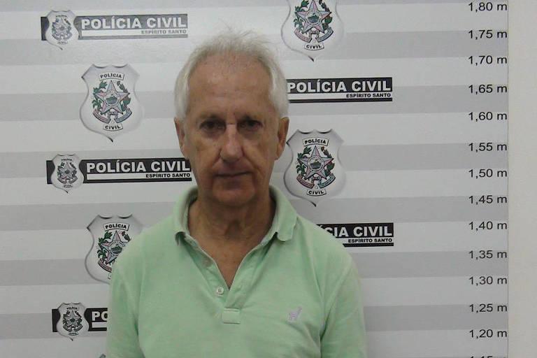 Marcos Venicio Moreira Andrade, que confessou ter matado o ex-governador do ES Gerson Camata