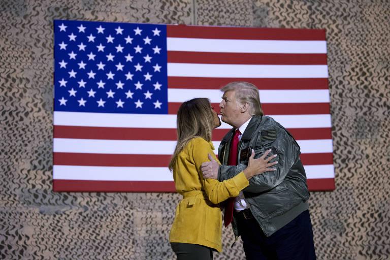 Donald Trump no Iraque