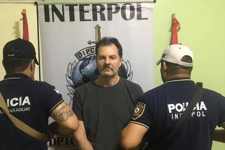 O doleiro Bruno Farina, sócio do também doleiro Dario Messer, preso no Paraguai
