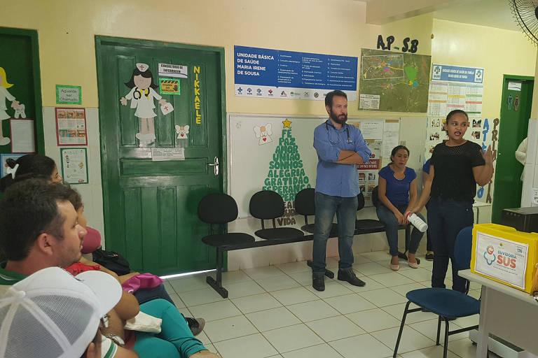 Médico Ivo Freitas Cavalcante em Adrianópolis