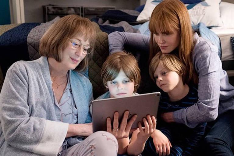 """Meryl Streep e Nicole Kidman em cena da segunda temporada de """"Big Little Lies"""""""