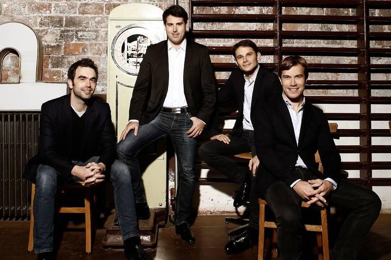 O francês Quarteto Modigliani se apresenta em outubro com o pianista Jean-Frédéric Neuburger