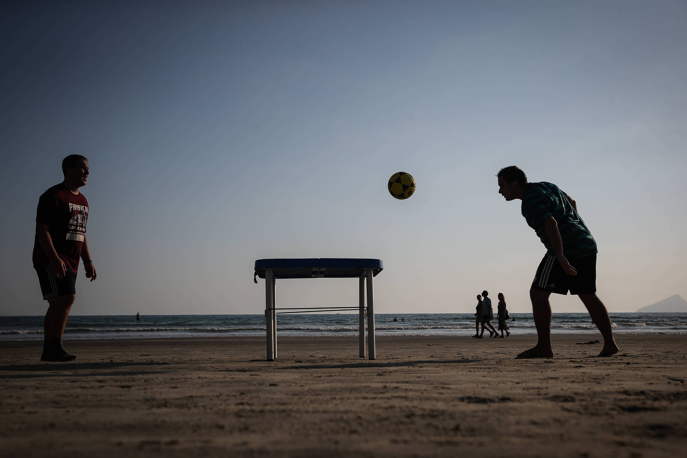Futmesa, A Mix Of Footvolley and Ping-Pong, Is São Paulo's