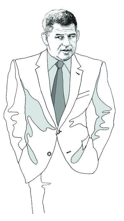 Retrato de Gustavo Bebianno, um dos ministros do governo Bolsonaro