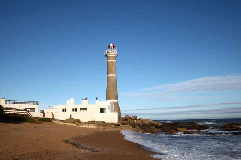 Faro de José Ignacio, na praia de mesmo nome, no Uruguai