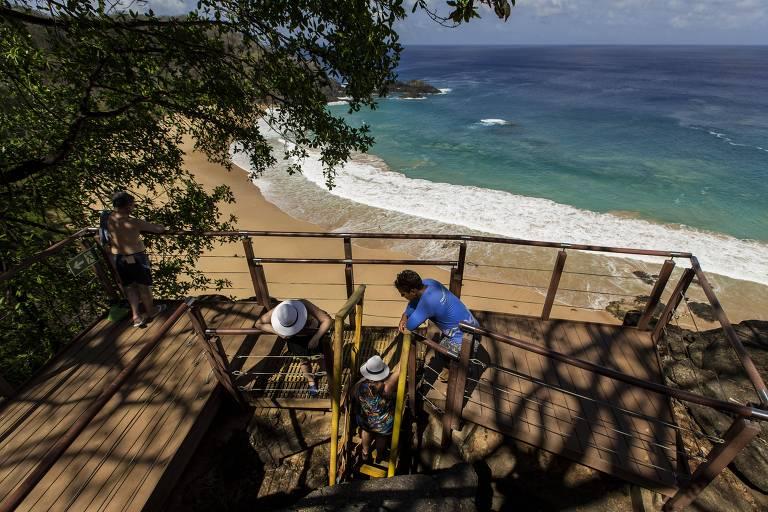 Turismo explode em Fernando de Noronha