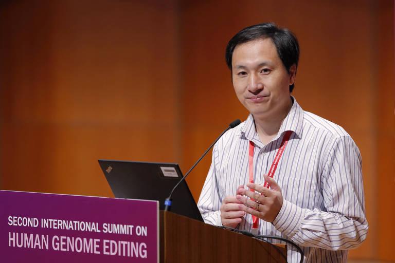 Jiankui He, pesquisador chinês que afirma ter editado o genoma de bebês humanos