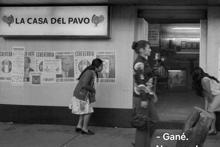"""imagem do filme """"Roma"""", da Netflix"""