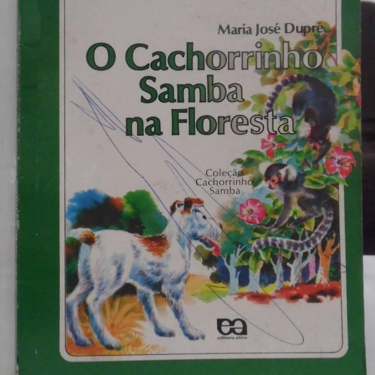 """Capa de """"Cachorrinho Samba na Floresta"""""""