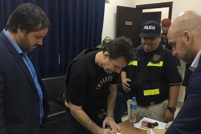 Extradição do doleiro Bruno Farina, acusado de participar de organização de Dario Messer