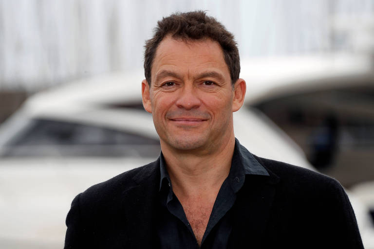 Dominic West, em Cannes