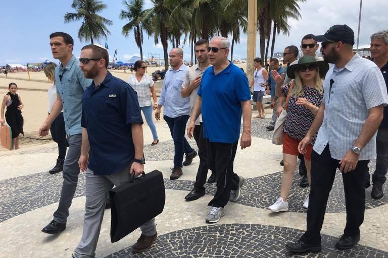 Netanyahu visita o Brasil