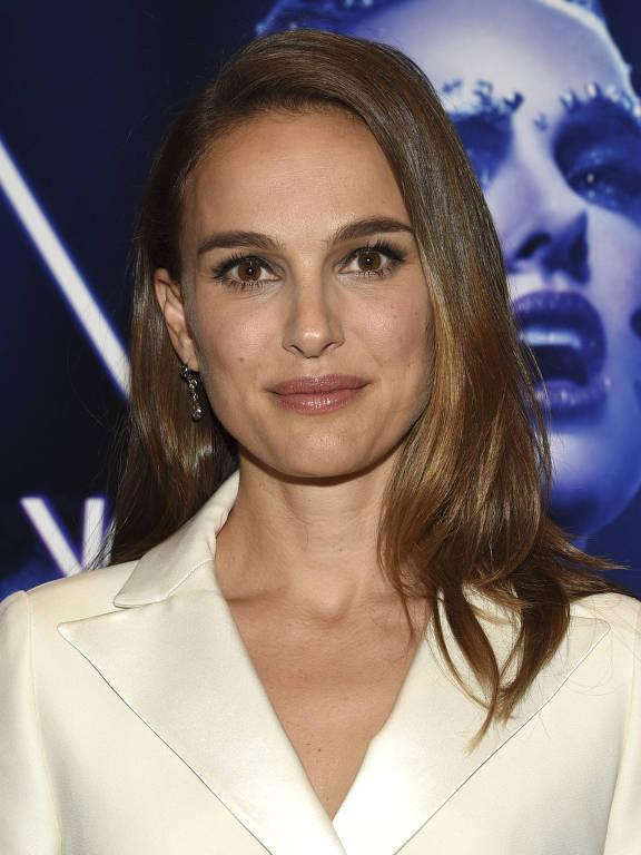 """Natalie Portman durante a pré-estreia do longa  """"Vox Lux"""""""
